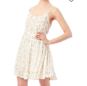 BEACH BY EXIST Aztec Beach Dress Cream Medium